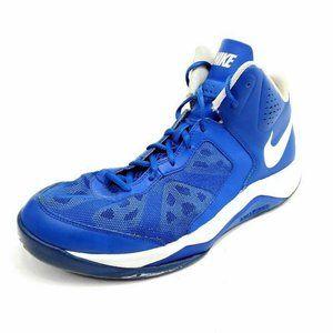 Nike Mens 11.5 Dual Fusion Basketball Shoes Blue